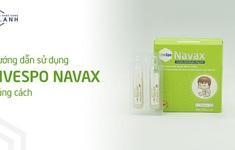 Hướng dẫn sử dụng xịt bào tử lợi khuẩn LiveSpo Navax cho đường hô hấp