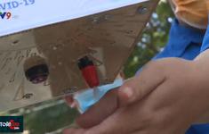 Học sinh sáng chế máy rửa tay tự động, chung tay chống dịch COVID-19