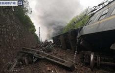 Tai nạn tàu hỏa tại Trung Quốc, hàng chục người bị thương