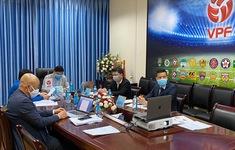 VPF họp trực tuyến với các đội bóng V.League