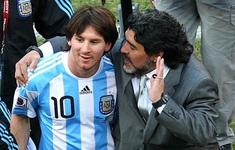 """Messi xuất sắc hơn Maradona"""