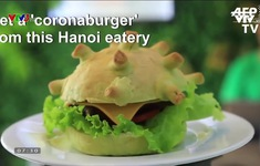 Hamburger virus, bánh giấy vệ sinh và những món ăn lấy cảm hứng từ dịch COVID-19