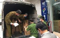 Hà Nội: Phát hiện cơ sở làm giả vật tư y tế số lượng lớn