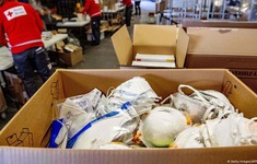 Đức cáo buộc Mỹ giành lô hàng khẩu trang