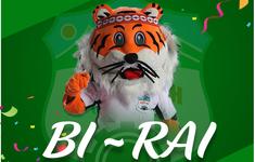 Chú hổ linh vật của CLB Hoàng Anh Gia Lai đã được đặt tên mới