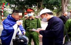 Xử phạt các vi phạm Chỉ thị 16 của Thủ tướng về phòng chống dịch