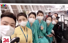 Kỷ niệm khó quên khi điều trị COVID-19 của nữ tiếp viên trên chuyến bay VN0054