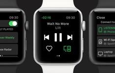 Spotify đã hỗ trợ kích hoạt trên Apple Watch qua Siri