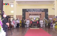 Tiễn đưa Thiếu tá Đặng Thanh Tuấn về nơi an nghỉ cuối cùng