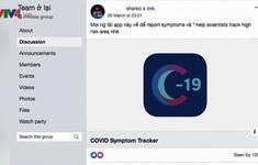 """Du học sinh tại Anh lập nhóm """"Team ở lại"""" phòng chống COVID-19"""