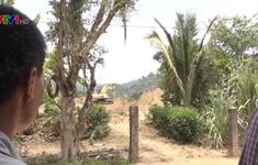 """Lại """"nóng"""" tình trạng khai thác cát trái phép ở Bình Phước"""