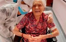 Cụ bà 104 tuổi trở thành người cao tuổi nhất chiến thắng dịch COVID-19