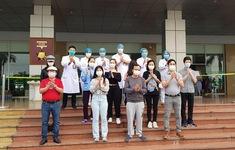 Tin vui: Thêm 27 bệnh nhân mắc COVID-19 được công bố khỏi bệnh