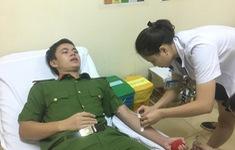 Bộ trưởng Tô Lâm kêu gọi cán bộ, chiến sĩ Công an hiến máu cứu người