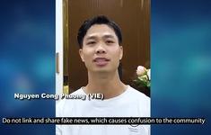 Sau Quang Hải, tới lượt Công Phượng tham gia hoạt động truyền cảm hứng của AFC