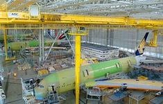 Airbus điều chỉnh tốc độ sản xuất giữa dịch COVID-19
