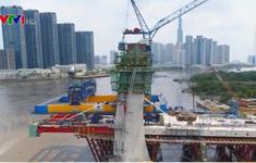 Cầu Thủ Thiêm 2 sẽ hoàn thành cuối năm nay
