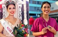 Hoa hậu Anh tình nguyện trở về làm bác sỹ chống dịch COVID-19