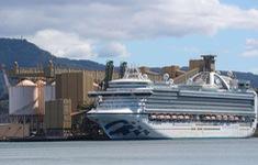 Australia điều tra du thuyền để khách mắc COVID-19 lên bờ