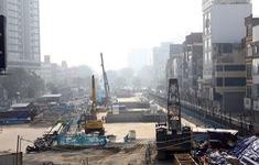 Đoạn ngầm đường sắt Nhổn - Ga Hà Nội vẫn vướng giải phóng mặt bằng