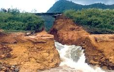 Vỡ đập chứa nước ở Phú Thọ, di dời khẩn cấp các hộ dân