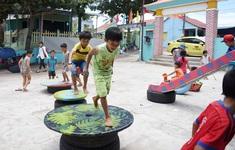 """Chung cư Hà Nội mọc như """"nấm"""", chỗ chơi cho trẻ thành thứ đồ """"xa xỉ"""""""