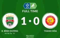 VIDEO Highlights: Becamex Bình Dương 1-0 CLB Thanh Hóa (Vòng 1/8 Cúp Quốc gia 2020)