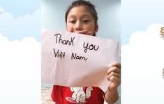 Trẻ em Việt Nam gửi lời tri ân đội ngũ tuyến đầu chống COVID-19