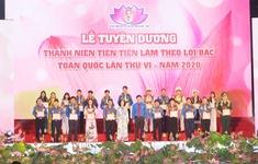 Tuyên dương những thanh niên tiên tiến làm theo lời Bác