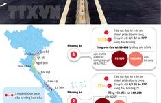 Đề xuất 3 phương án đầu tư cao tốc Bắc – Nam