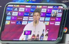 Thomas Muller và cuộc trả lời với VTV (19h45 hôm nay trên VTV1)