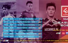 Xem trực tiếp vòng 3 V-League và giải Hạng Nhất Quốc gia 2020 trên VTVCab