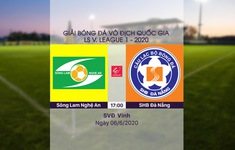 VIDEO Highlights: Sông Lam Nghệ An 1-0 SHB Đà Nẵng (Vòng 3 LS V.League 1-2020)
