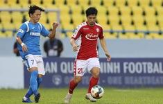 TRỰC TIẾP Than Quảng Ninh 0-2 CLB TP Hồ Chí Minh: Amido nhân đôi cách biệt