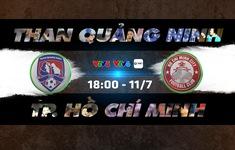 TRỰC TIẾP Than Quảng Ninh - CLB TP Hồ Chí Minh: 18h00 hôm nay trên VTV6, VTV5 và VTV Sports (Vòng 9 V.League 2020)