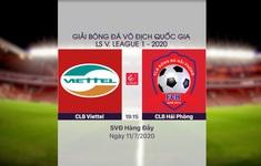 VIDEO Highlights: CLB Viettel 4-0 CLB Hải Phòng (Vòng 9 LS V.League 1-2020)