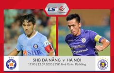 TRỰC TIẾP V.League 2020 SHB Đà Nẵng 0-1 CLB Hà Nội: Hùng Dũng ghi bàn mở tỉ số