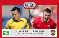 TRỰC TIẾP V.League 2020 Sông Lam Nghệ An 0-0 Hồng Lĩnh Hà Tĩnh (H1): Cơ hội liên tiếp!