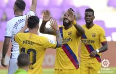 Kết quả, bảng xếp hạng La Liga: Barcelona thắng tối thiểu, bám đuổi Real Madrid