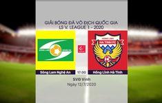 VIDEO Highlights: Sông Lam Nghệ An 1-1 Hồng Lĩnh Hà Tĩnh (Vòng 9 LS V.League 1-2020)