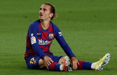 Dính chấn thương, Antoine Griezmann nguy cơ nghỉ hết mùa La Liga