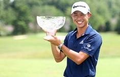 Collin Morikawa vô địch giải Workday Charity mở rộng 2020