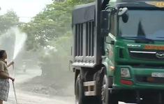 Mỏ than gây bụi bặm và nguy cơ sạt trượt bãi thải