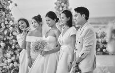 Những bức ảnh chưa từng tiết lộ trong đám cưới của Phanh Lee