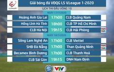 Lịch thi đấu và trực tiếp vòng 10 V.League 2020: CLB Hà Nội – CLB Hải Phòng, SHB Đà Nẵng – Than Quảng Ninh…