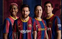Barcelona ra mắt mẫu áo đấu mùa giải 2020/21