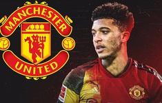 Man Utd chốt giá 85 triệu bảng cho Sancho