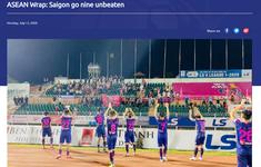 AFC ca ngợi phong độ ấn tượng của CLB Sài Gòn tại V.League 2020