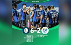 Atalanta 6-2 Brescia: Đại tiệc bàn thắng