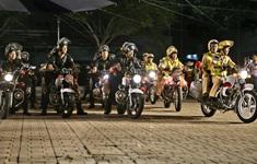 Công an Thành phố Hồ Chí Minh ra quân trấn áp tội phạm